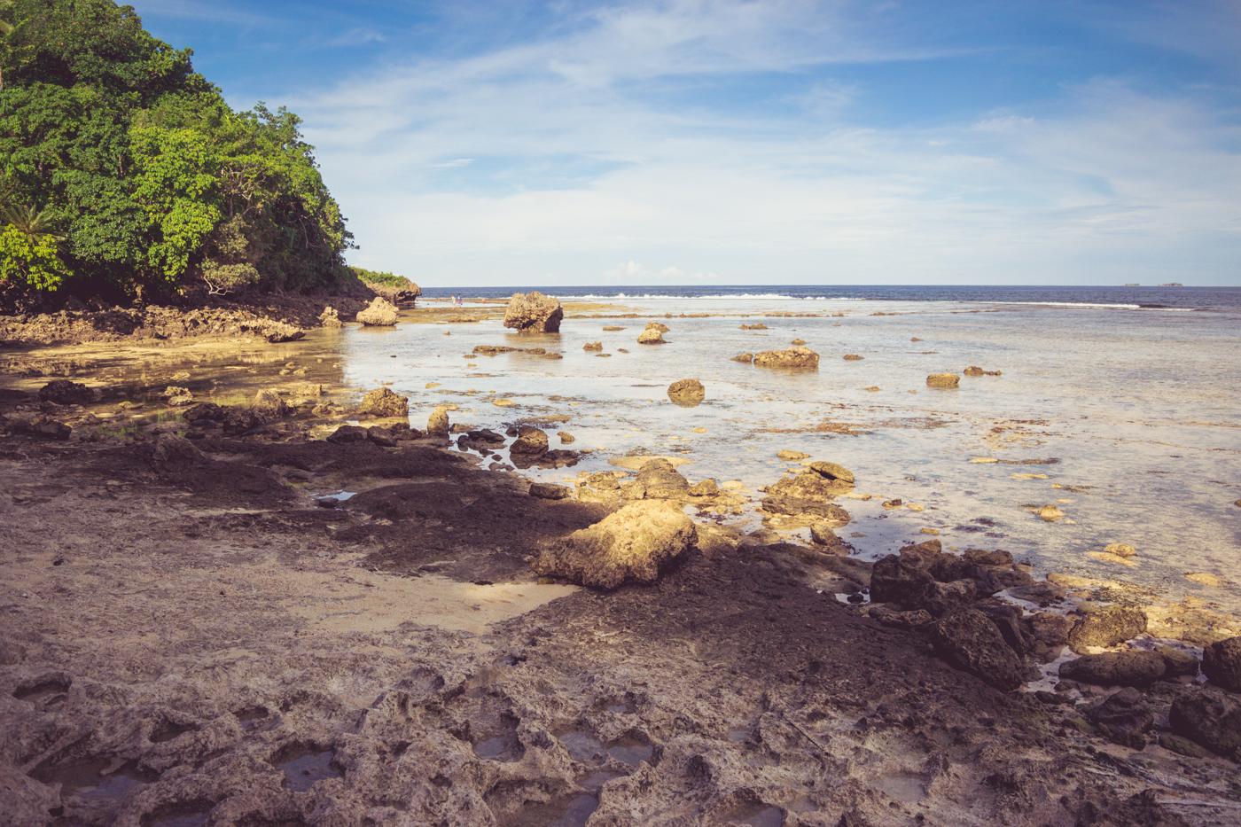 Magpupungko beach Siargao