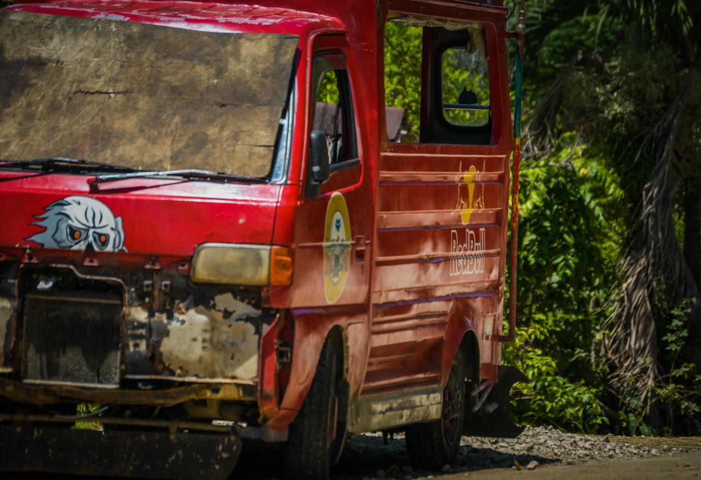 Redbull truck Srargao Pacifico
