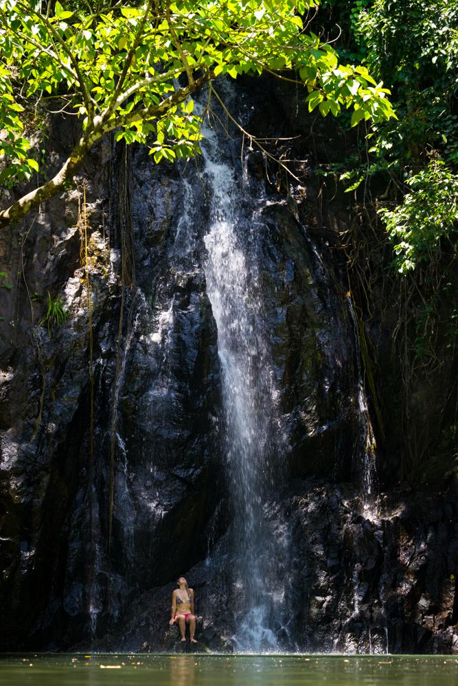 waterfalls tak tak siargao philippines